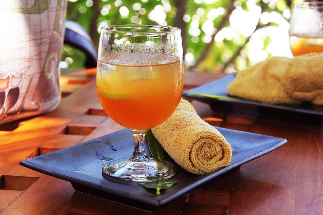 boissons, brouiller, cocktail