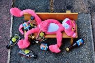 bench, street, bottles