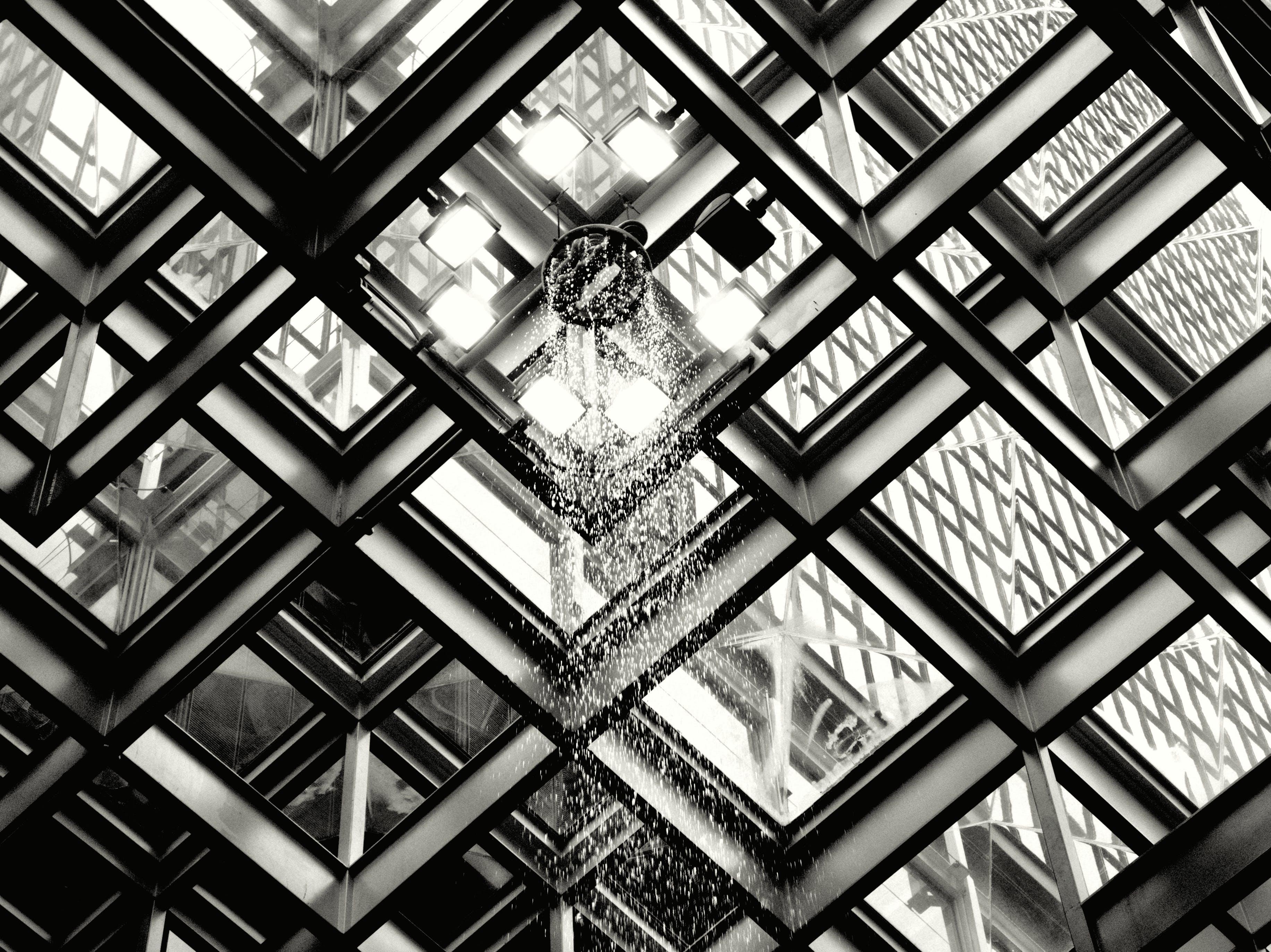 về ánh sáng, hình dạng, hình học, kết cấu