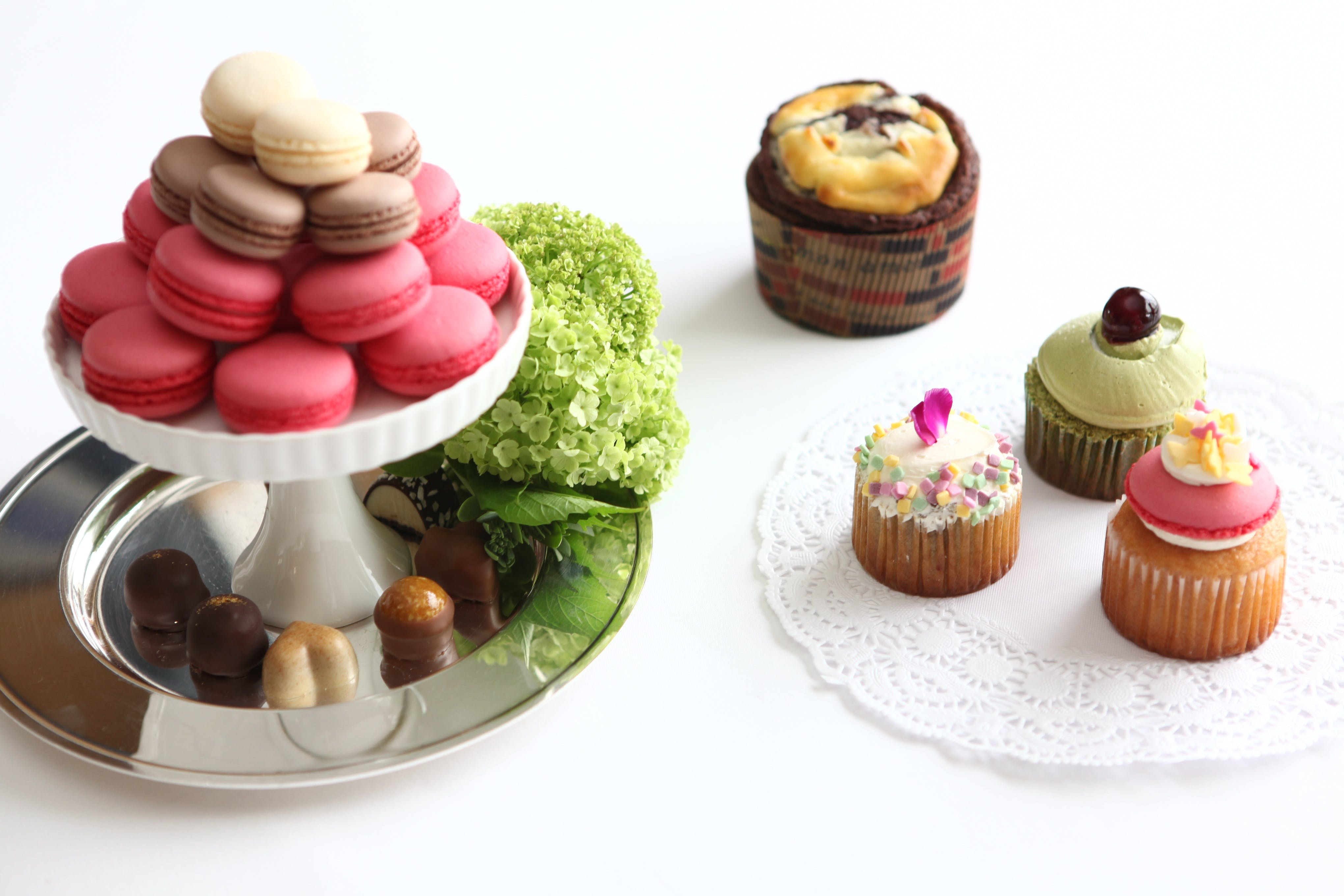 Desserts on Tables