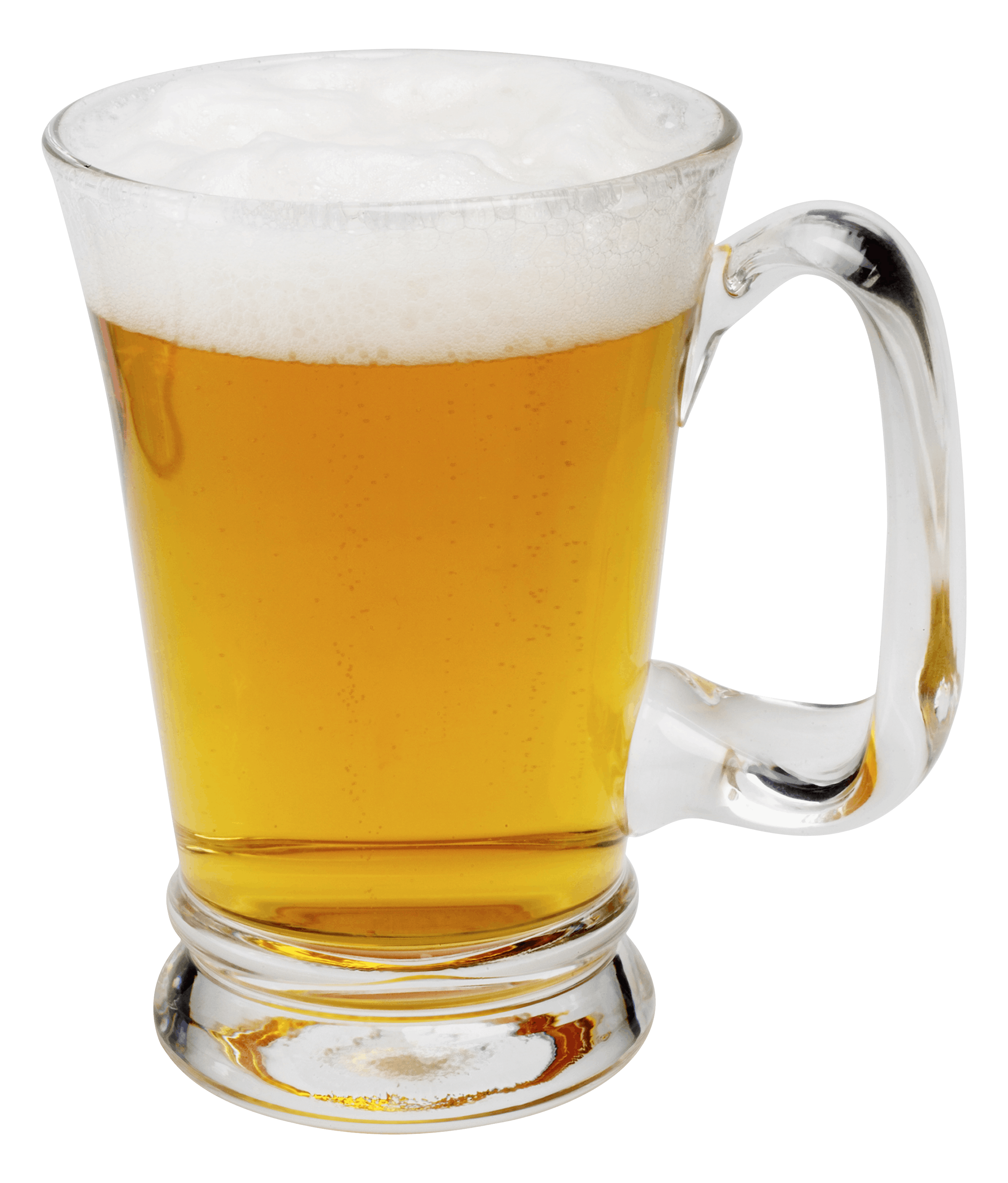 Clear Beer Glass