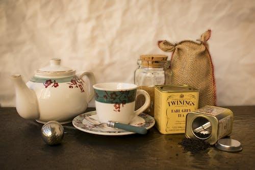 Ilmainen kuvapankkikuva tunnisteilla earl harmaa tee, juoma, kofeiini, kuppi