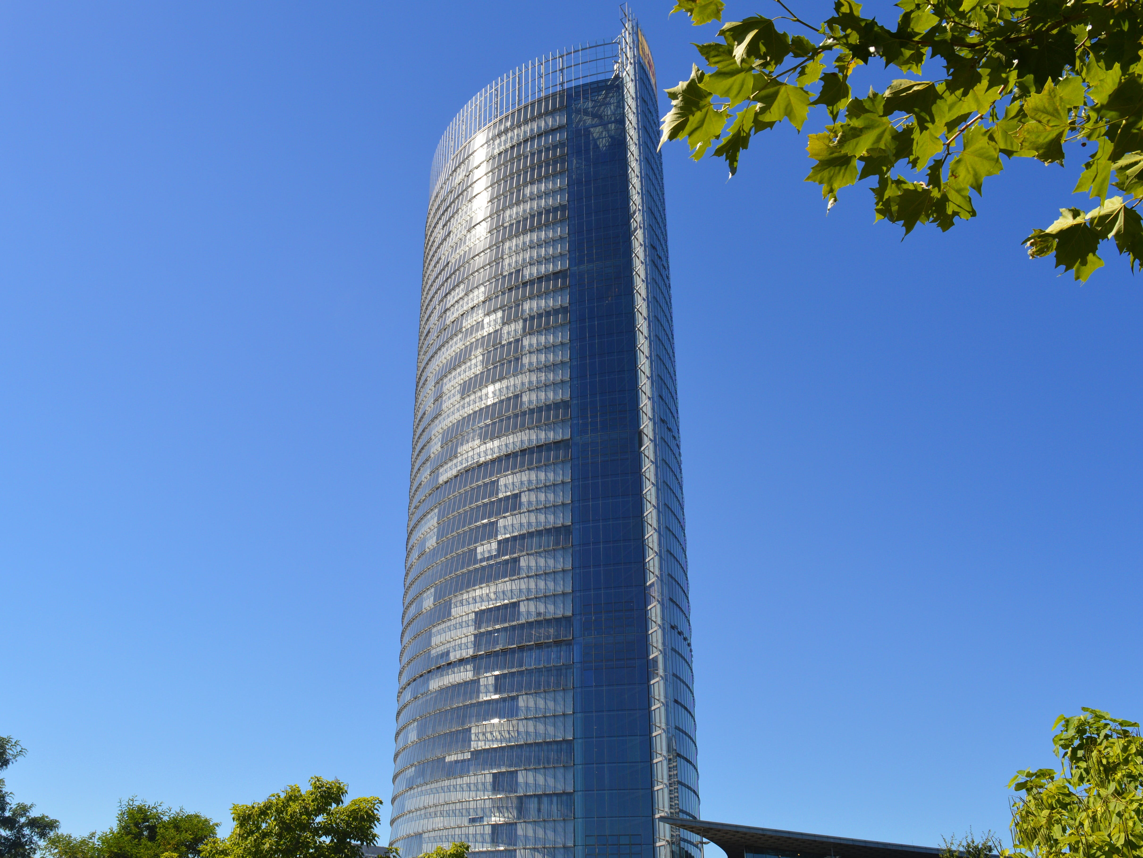 Low Angle Photo of Silver Building