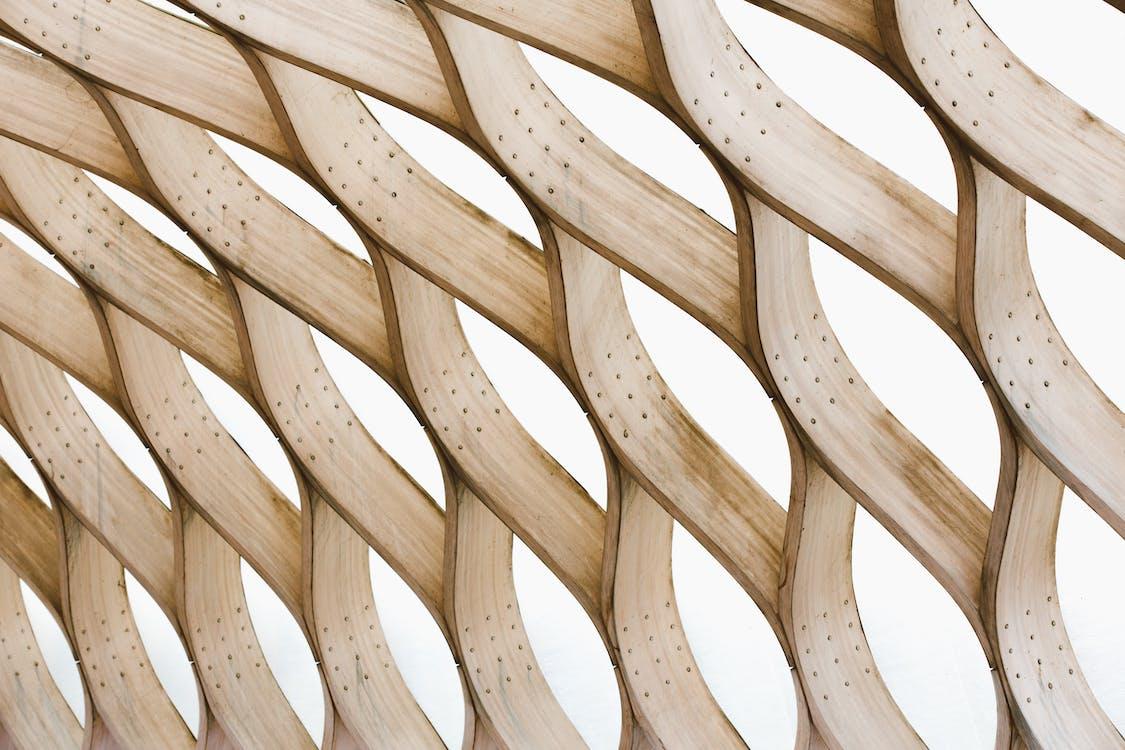 abstrakcyjny, drewniany, drewno