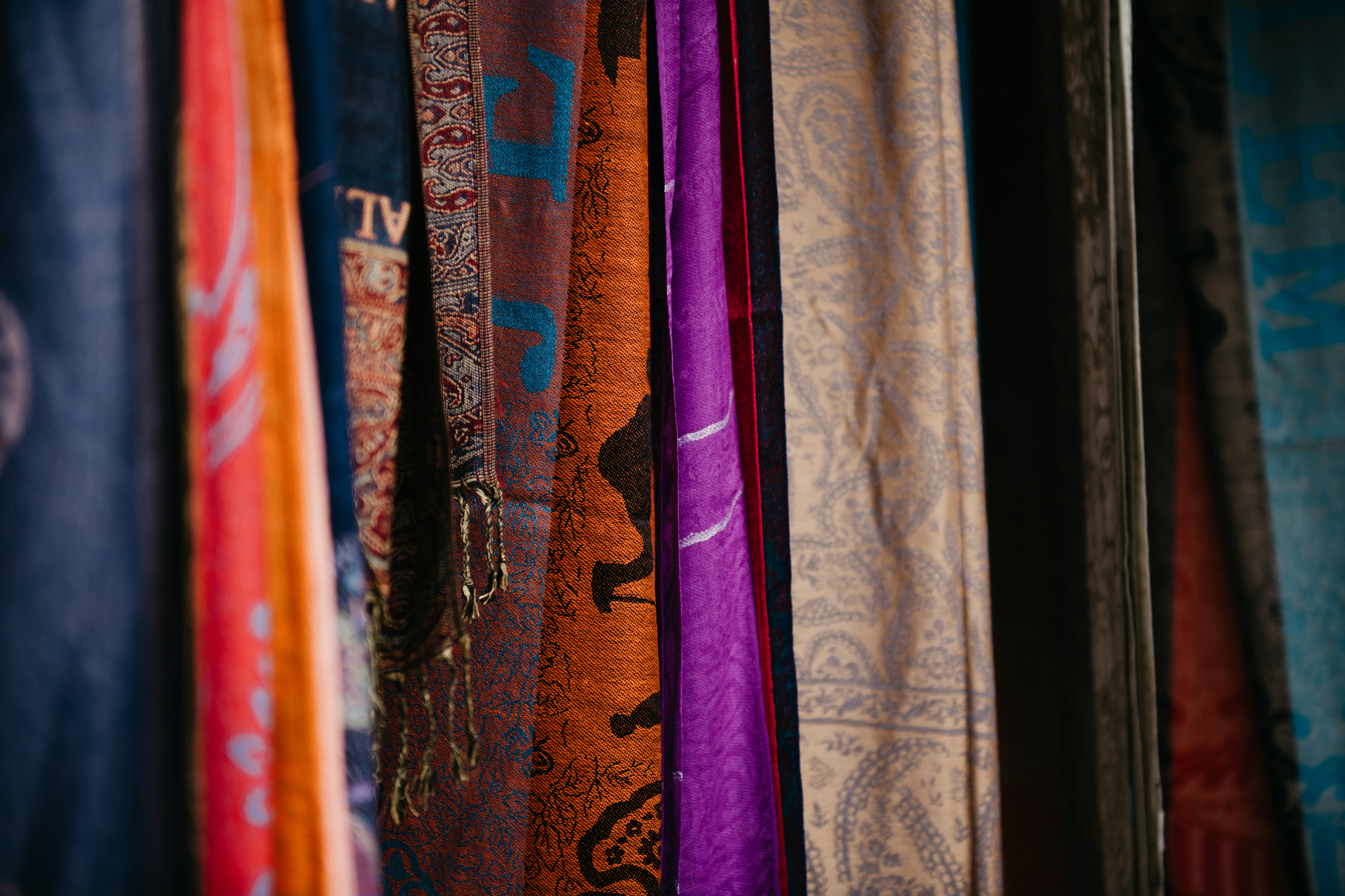 Assorted Color and Pattern Cloths