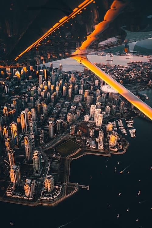 Kostnadsfri bild av arkitektur, båtar, brygga, byggnader