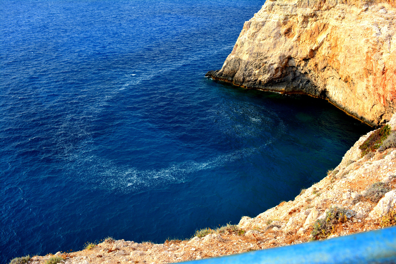 Gratis lagerfoto af blåt vand, sten