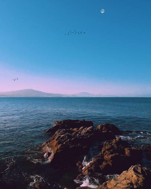 Imagine de stoc gratuită din amurg, apă, cer, cer albastru