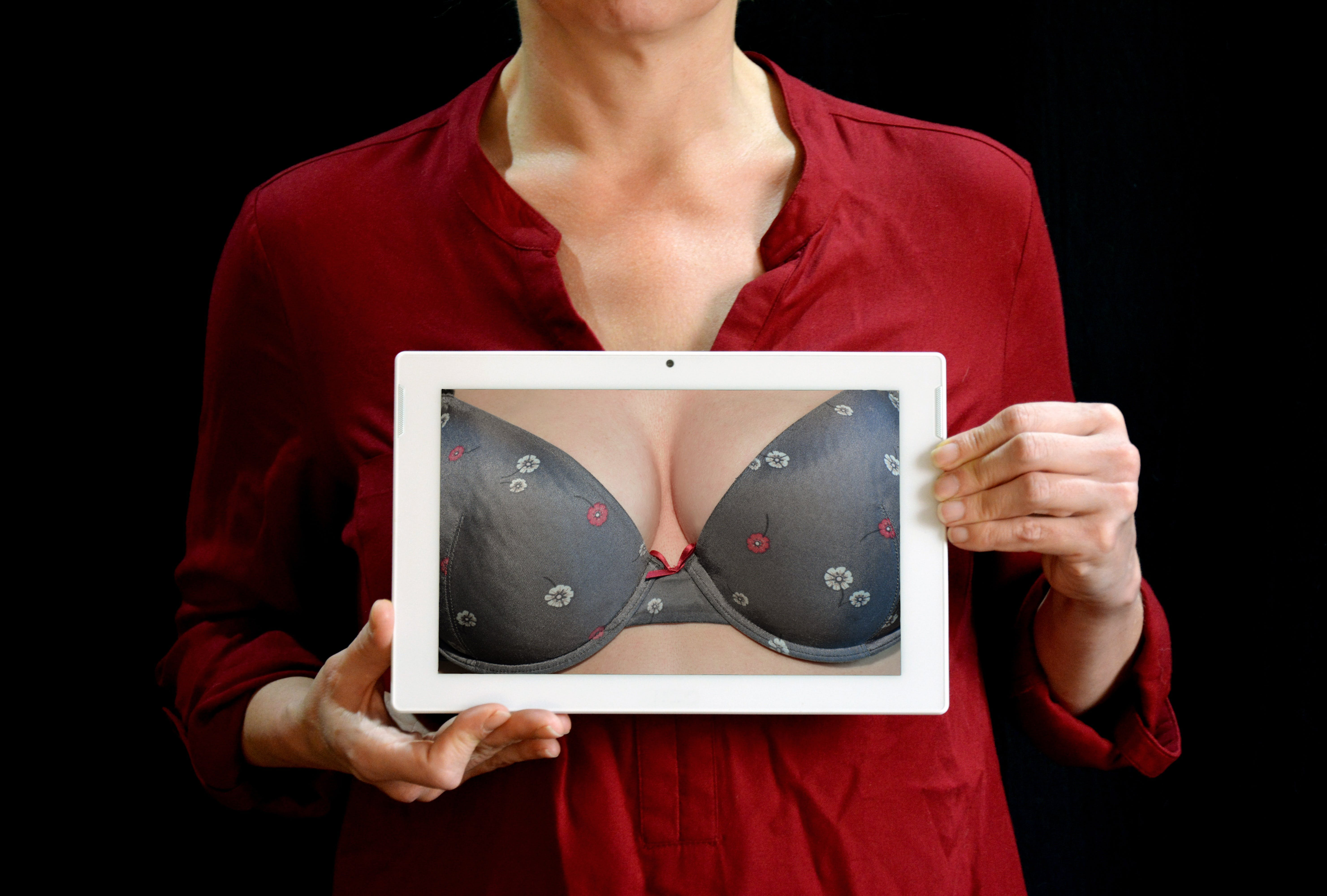 adult, bra, breast