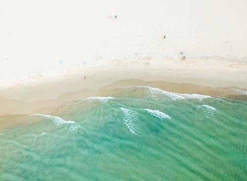 Foto profissional grátis de aerofotografia, areia, beira-mar, currumbin