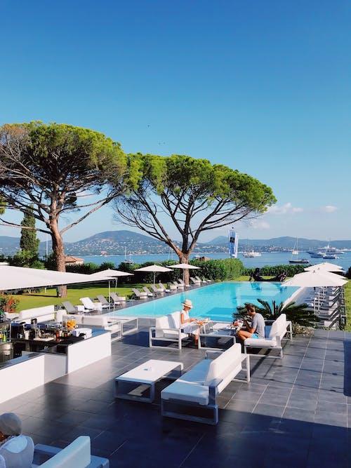 Безкоштовне стокове фото на тему «басейн, відпустка, готель, копаний басейн»