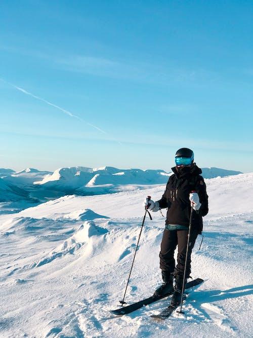 açık hava, boş zaman, dağ, dinlenme içeren Ücretsiz stok fotoğraf