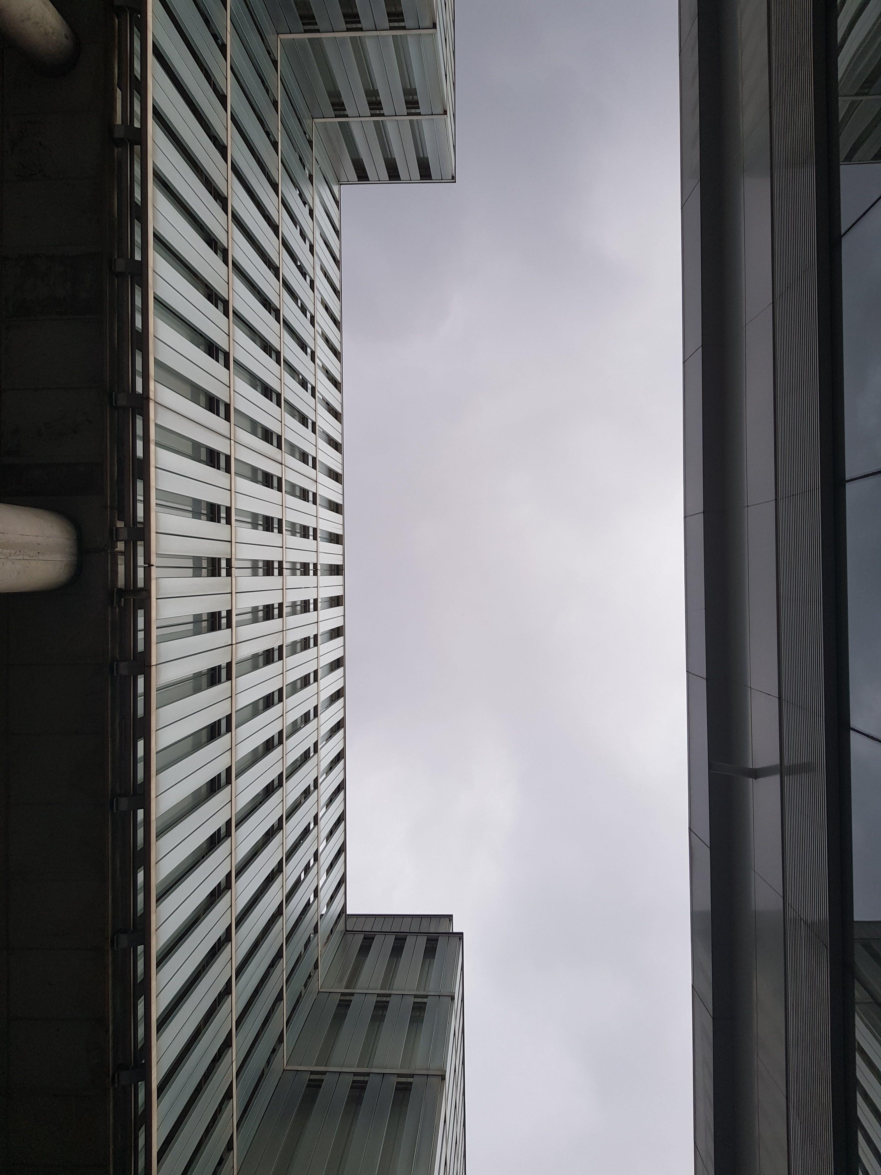 Ilmainen kuvapankkikuva tunnisteilla arkkitehtuuri, keskusta, kuva alakulmasta, perspektiivi