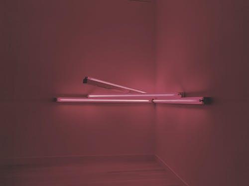 Kostnadsfri bild av fluorescerande, inomhus, lampor, närbild