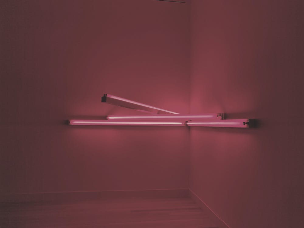 berpendar, cahaya, dalam ruangan