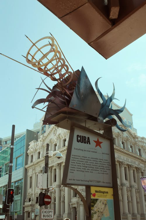 Free stock photo of cuba street, Historic Building, new zealand bank, travel