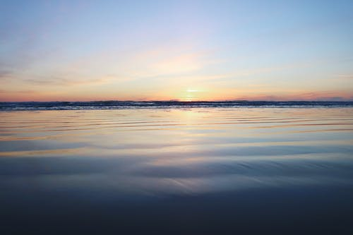 Foto d'estoc gratuïta de alba, capvespre, cel, horitzó