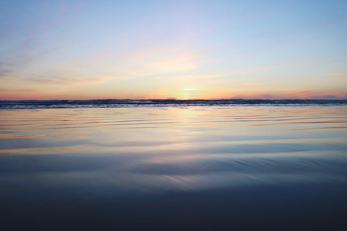 blikveld, dageraad, hemel