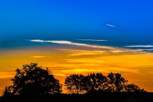 morgenrot, morgenstimmung, 光, 光線 的 免费素材照片