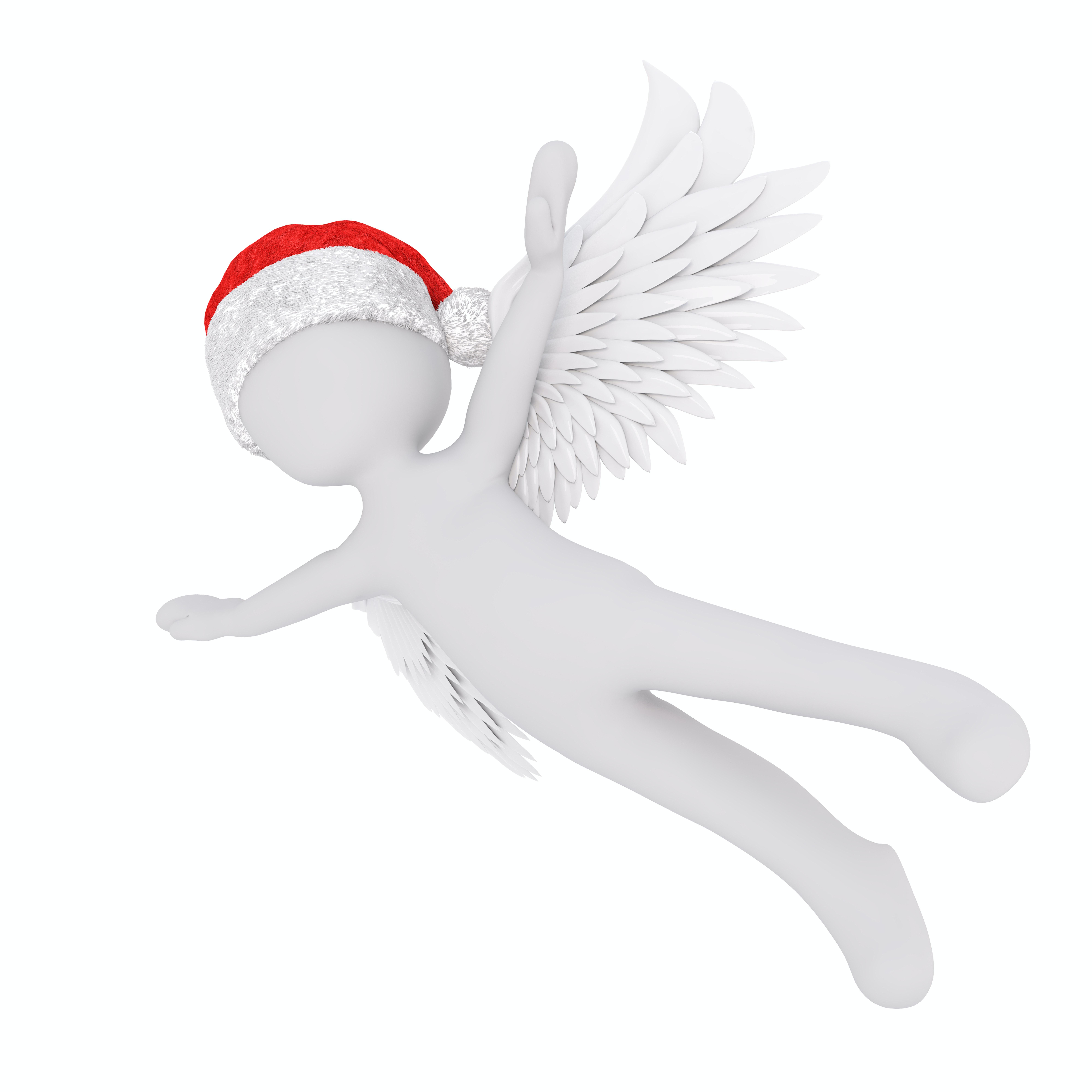 Free stock photo of 3d model, angel, angel figure