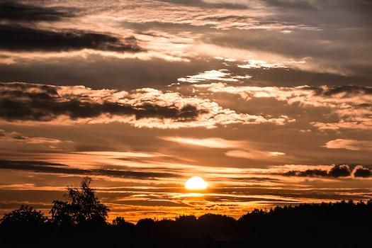 Kostenloses Stock Foto zu dämmerung, landschaft, himmel, sonnenuntergang