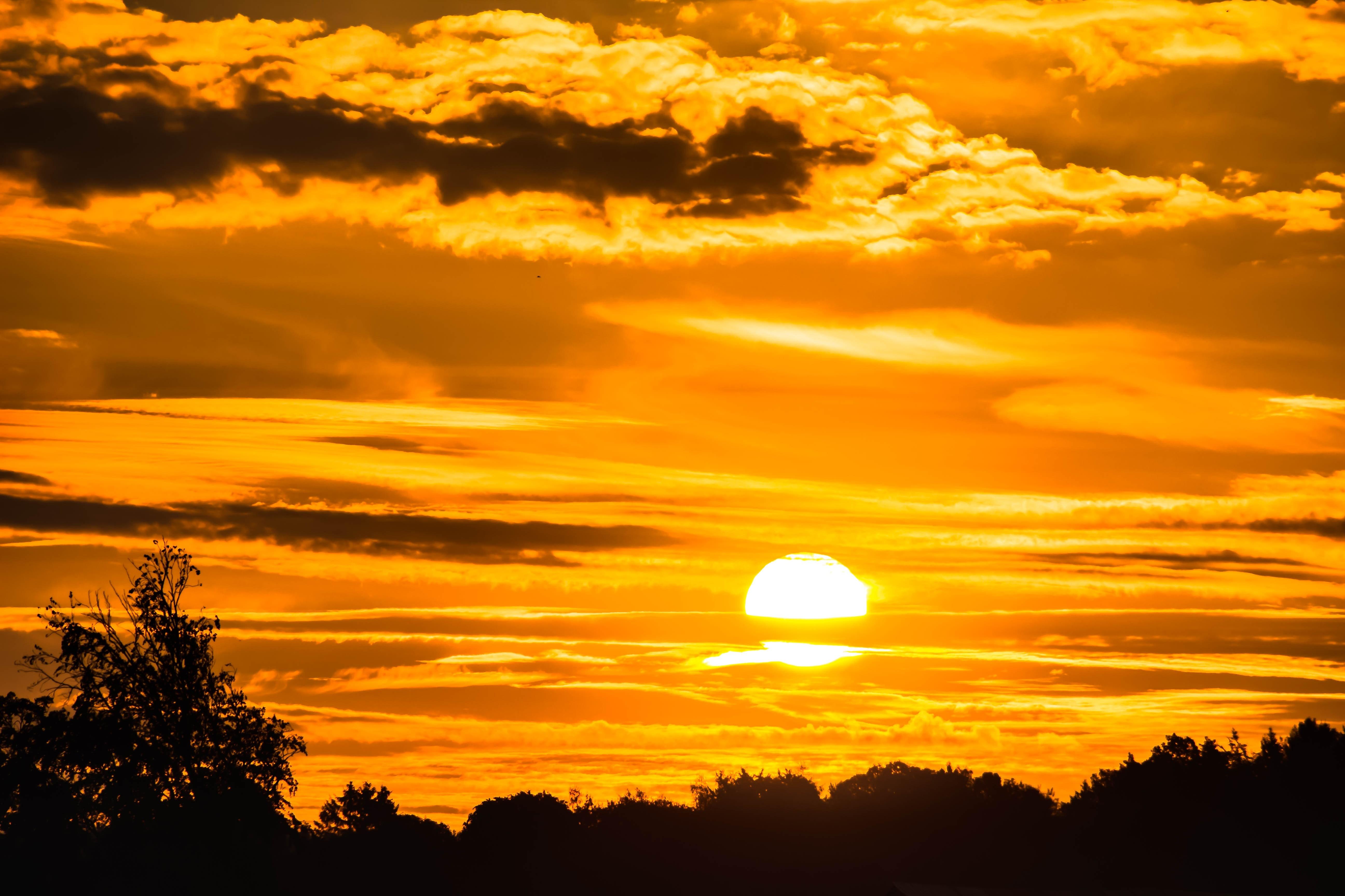 photography of sunset  u00b7 free stock photo