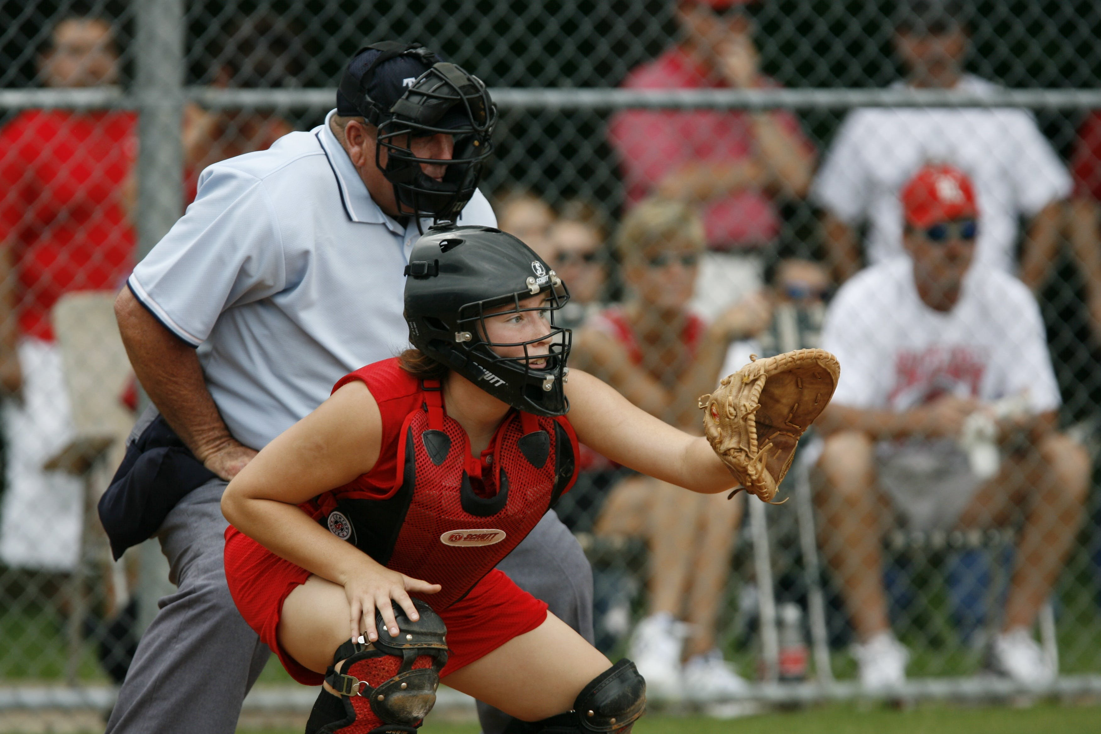 Baseball Catcher Position