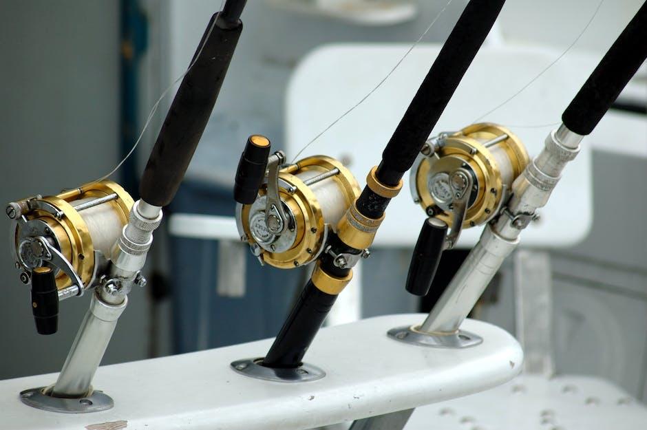 3 Brass Black Lined Baitcasters