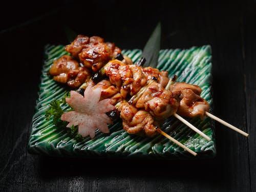 Foto stok gratis alat barbecue, alat barbekyu, Babi, daging