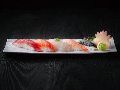 Gratis arkivbilde med delikat, fisk, gourmet, japansk mat