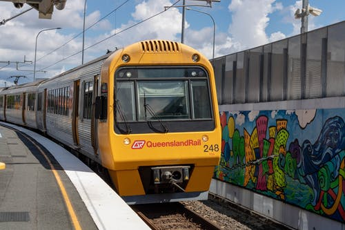 Free stock photo of electric train, queensland rail