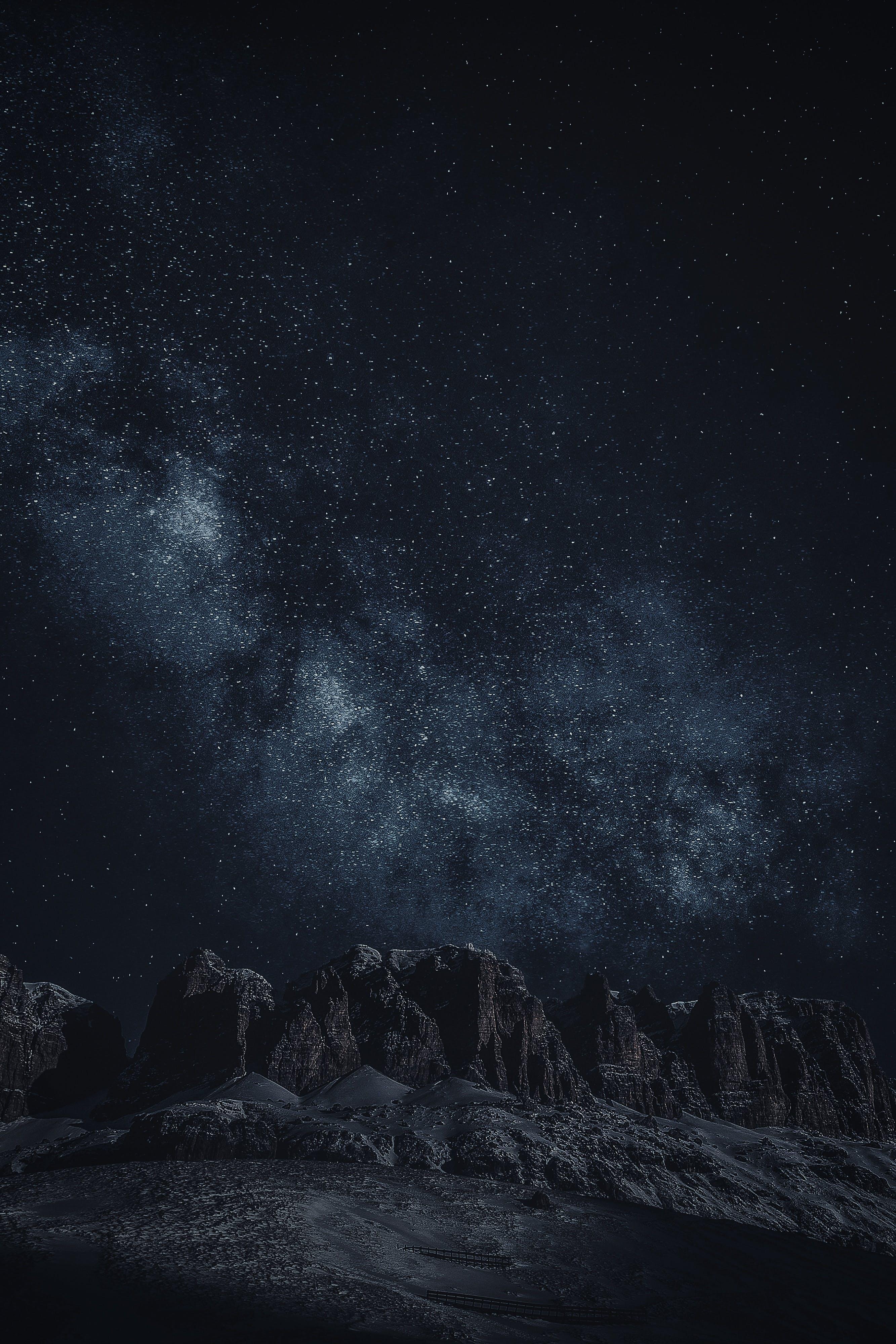 Kostenloses Stock Foto zu abend, astrologie, astronomie, berg