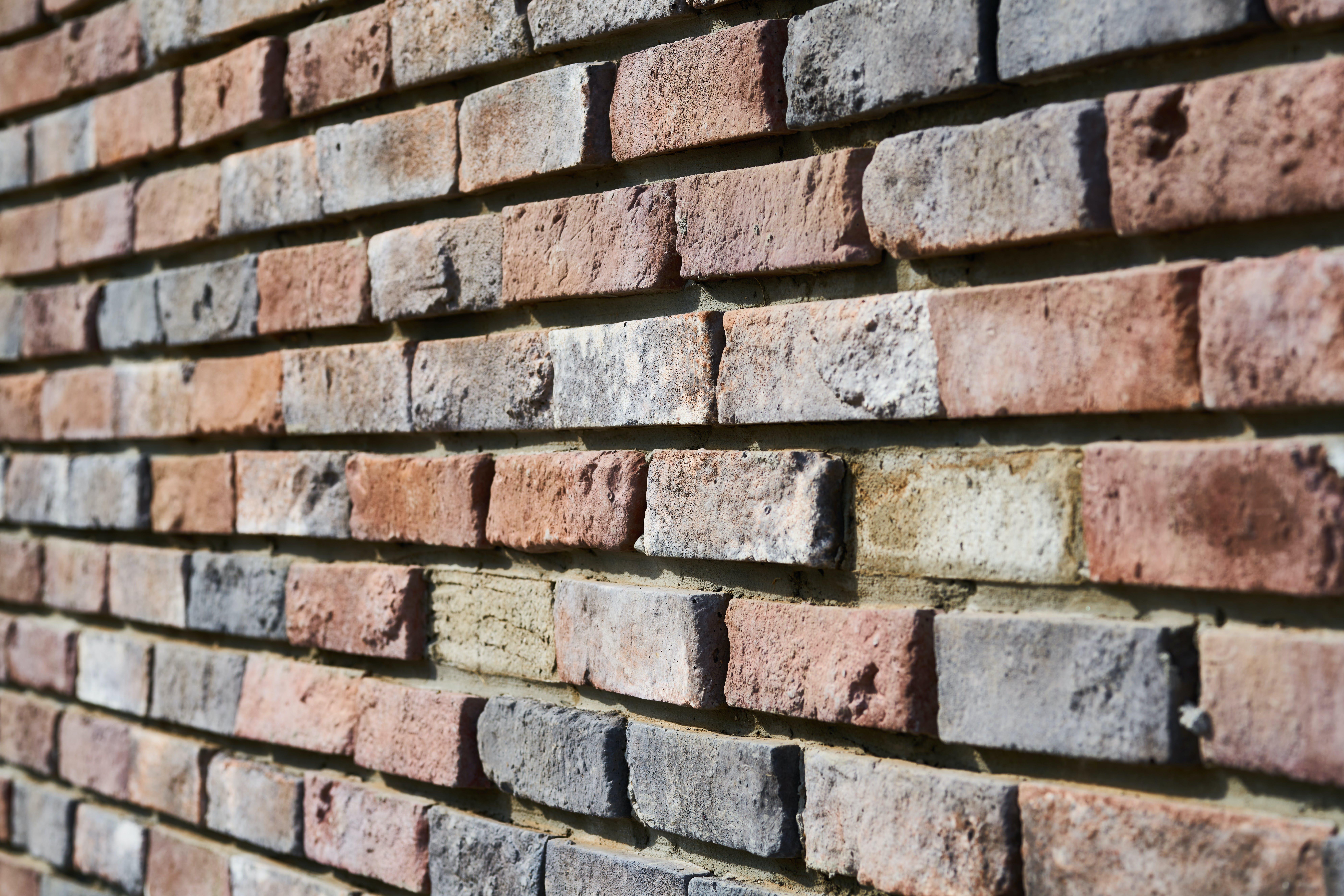 Kostenloses Stock Foto zu backsteinmauer, detail, mauer, ziegel