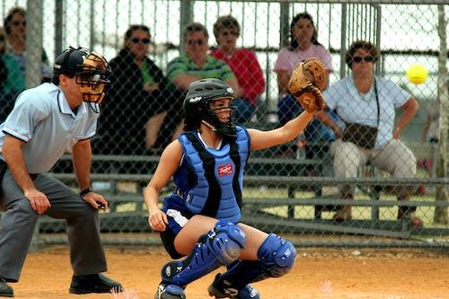 Kostnadsfri bild av baseboll, flicka, idrottare, kvinna