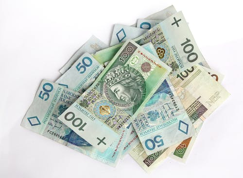 Banknotes on White Surface
