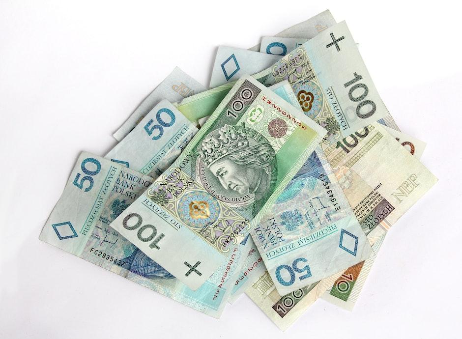 100, bank notes, bills