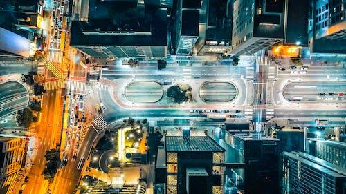 Ingyenes stockfotó belváros, építészet, épületek, felülről témában