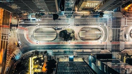 Gratis stockfoto met architectuur, gebouwen, lage hoek schot, luchtfoto
