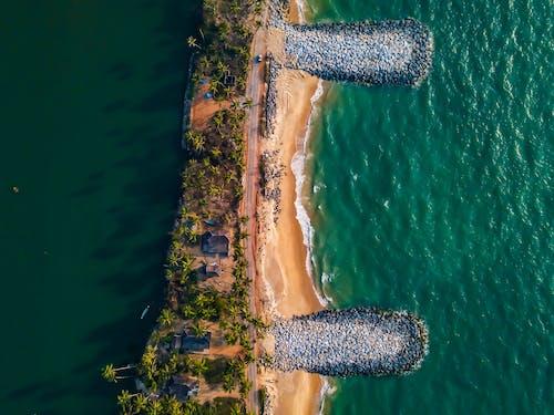 Fotobanka sbezplatnými fotkami na tému fotografia zdronu, H2O, letecký, pohľad zvtáčej perspektívy