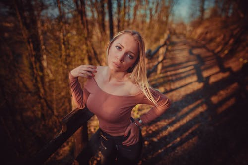 Free stock photo of blonde hair, giove vincenzo, golden hour, italian girl