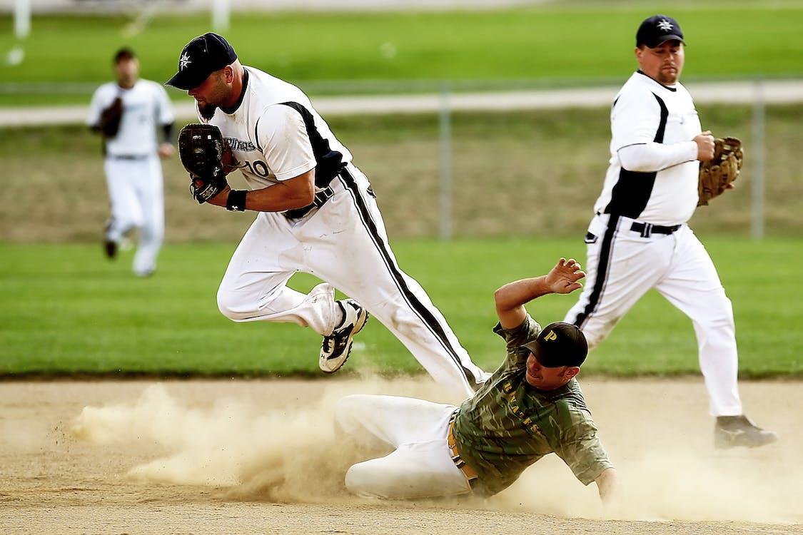 Ingyenes stockfotó akció, baseball, bázis témában