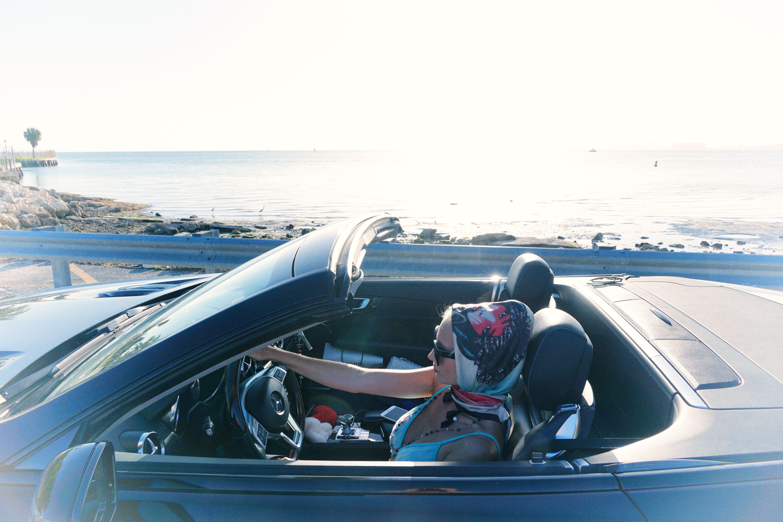 Free stock photo of car, driving, fashion, ocean