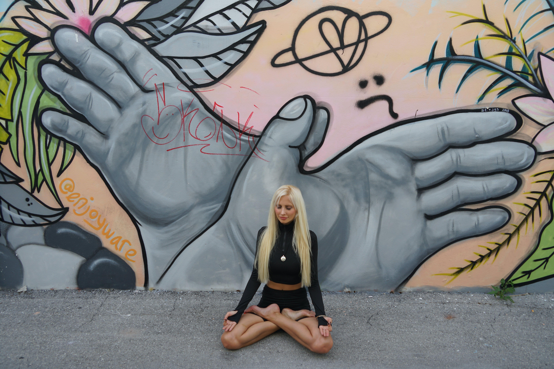 Free stock photo of meditate, meditation, yoga girl