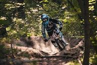 forest, sport, bike