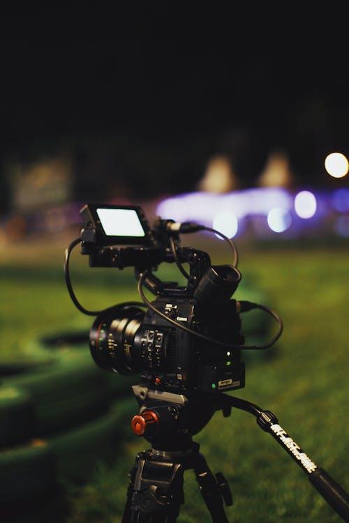 Kostnadsfri bild av inspelning, kamera, stativ, videoinspelning