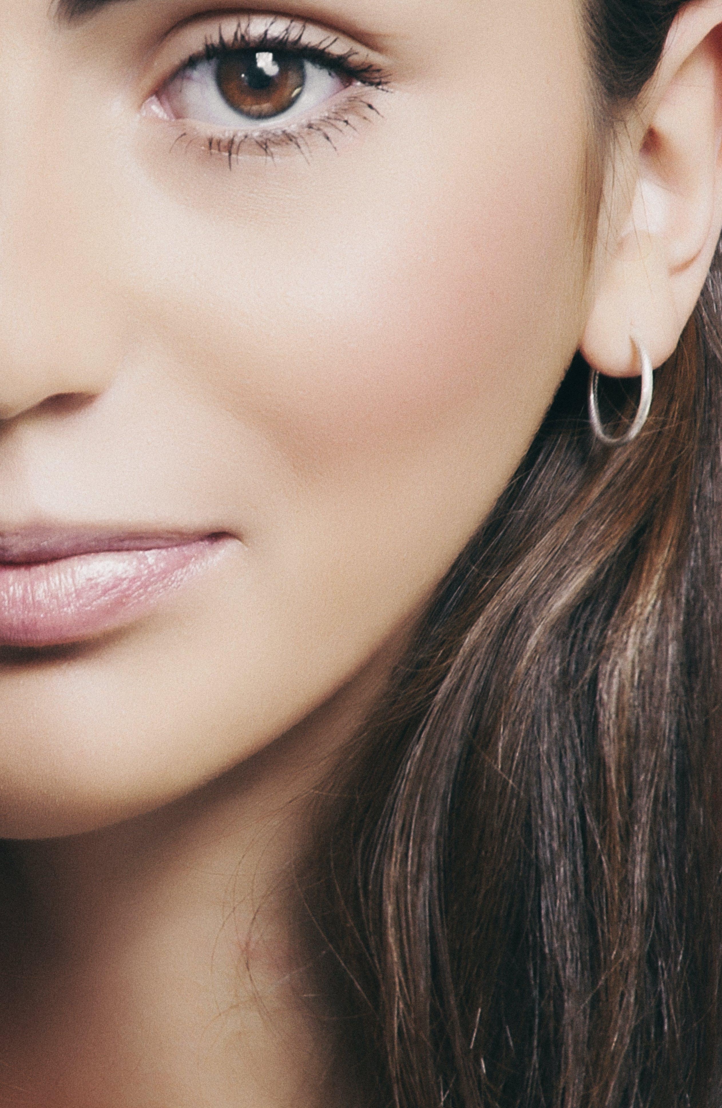 Free stock photo of Глаза, губы, девушка, женский пол