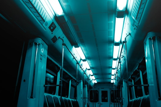 Free stock photo of lights, dark, exit, train