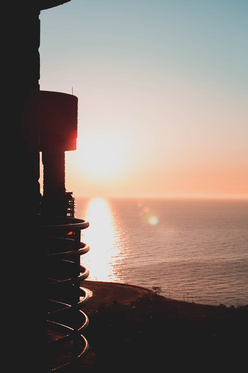 Fotobanka sbezplatnými fotkami na tému more, oceán, podsvietený, šero
