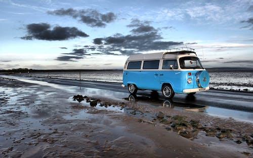 Δωρεάν στοκ φωτογραφιών με ακτή, άμμος, αυτοκινούμενο τροχόσπιτο, δρόμος