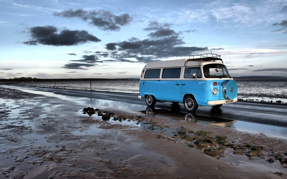 Free stock photo of sea, road, beach, sand